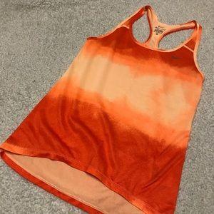 Nike workout fitness racerback tank